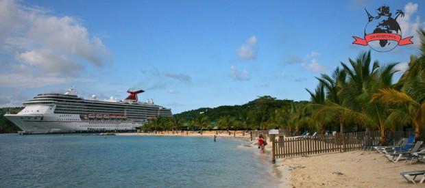 Mahogany Bay Honduras Insel Roatán Strand