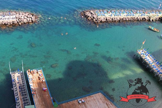 Sorrent Sorrento Golf von Neapel Italien Strand