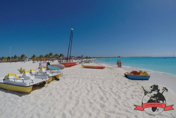 Playa Sirena Insel Cayo Largo Kuba Strand