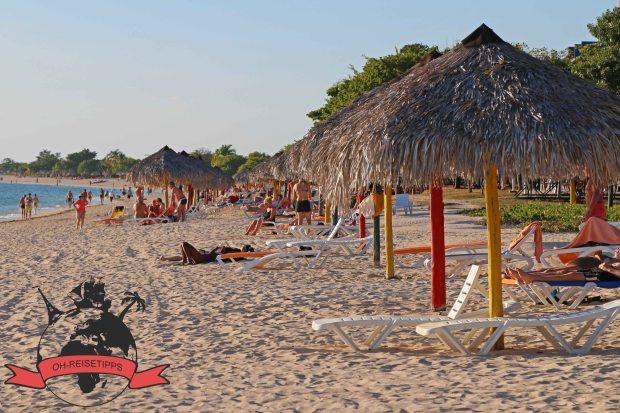 Playa Ancón Trinidad Kuba Strand