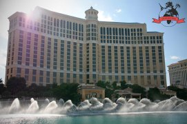 Wasserspiele Fountains Hotel Resort Casino Bellagio Las Vegas USA