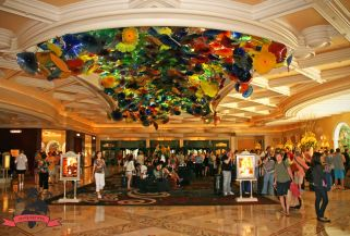Lobby Hotel Resort Casino Bellagio Las Vegas USA