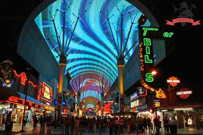 Fremont Street Experience Downtown Las Vegas USA