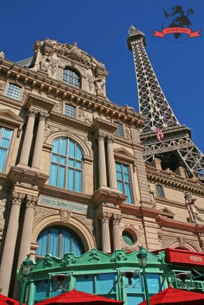 Hotel Paris Eiffel Tower Eiffelturm Las Vegas USA