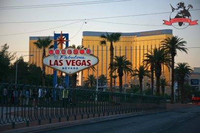 Las-Vegas-Sign Hotel Resort Casino Mandalay Bay Las Vegas USA
