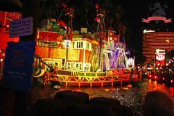Show Sirenes of TI Hotel Treasure Island Las Vegas USA