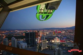 Fahrgeschäft Stratosphere Tower Las Vegas USA