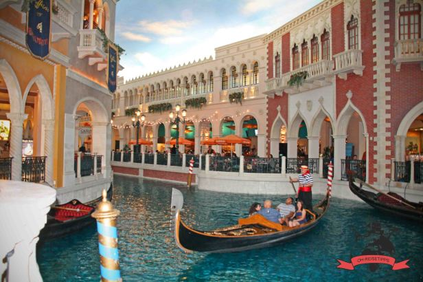 Gondelfahrten Hotel Resort Casino The Venetian Las Vegas USA