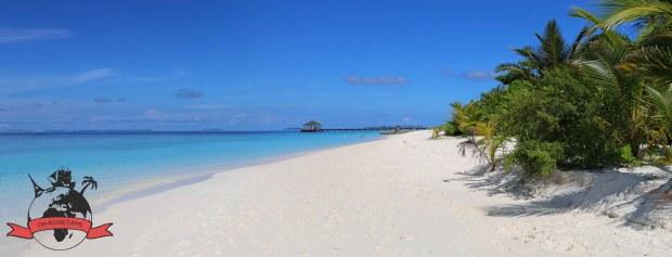 Malediven Insel Meedhupparu Strand