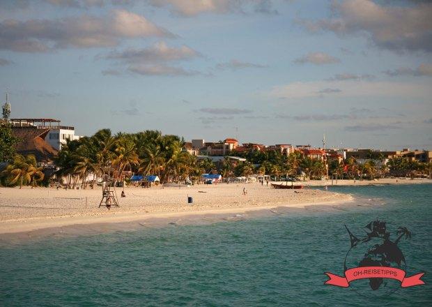Playa del Carmen Mexiko Strand