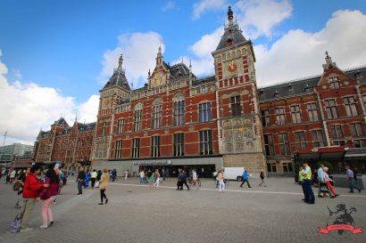 Hauptbahnhof Amsterdam Centraal Niederlande Holland