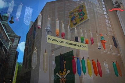 Kuriose Geschäfte Amsterdam Holland Niederlande