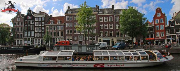 Gracht Grachten Grachtenfahrt Amsterdam Holland Niederlande
