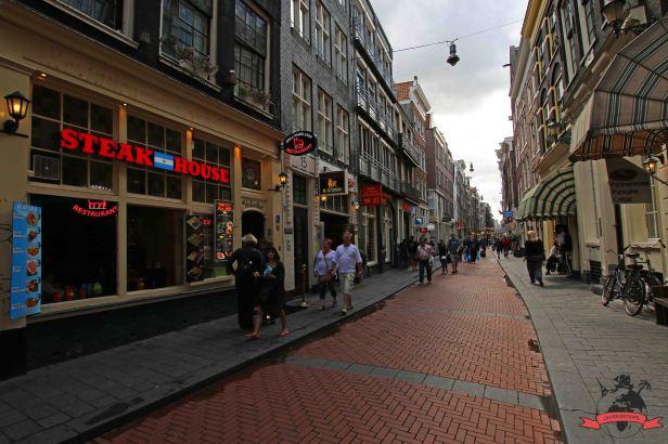 Warmoesstraat Amsterdam Holland Niederlande