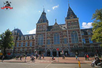 Das staatliche Rijksmuseum in Amsterdam. Foto: Oliver Heider