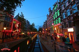 Rotlichtviertel Amsterdam Holland Niederlande