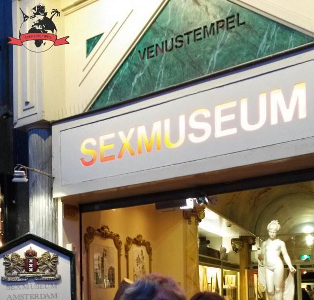 Venustempel Sexmuseum Amsterdam Niederlande Holland