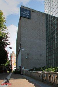 Das Van-Gogh-Museum in Amsterdam. Foto: Oliver Heider