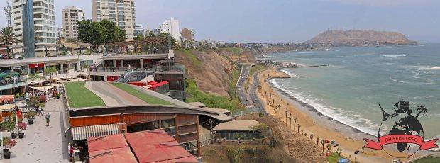Playa Redondo Pazifik Lima Peru Strand