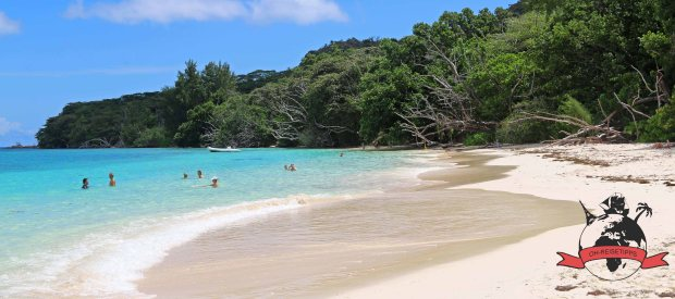 Anse St. Jose Seychellen Insel Curieuse Strand