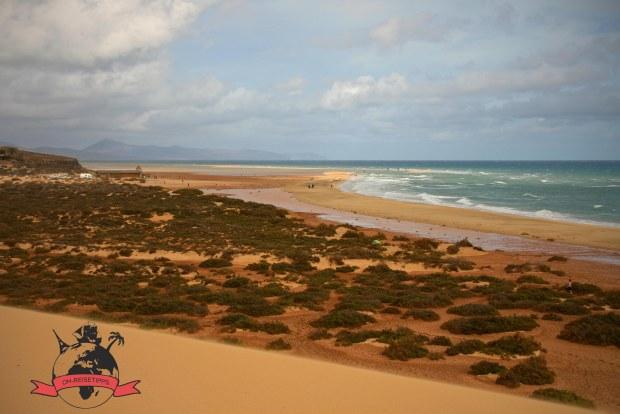 Costa Calma Kanaren Insel Fuerteventura Spanien Strand