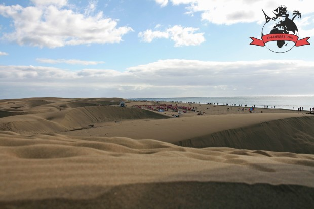 Dunas de Maspalomas Kanaren Insel Gran Canaria Strand Dünen