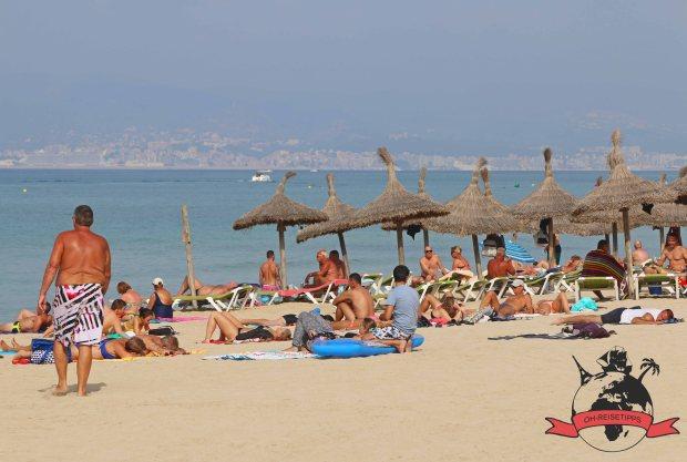 Playa de Palma Insel Mallorca Spanien Strand