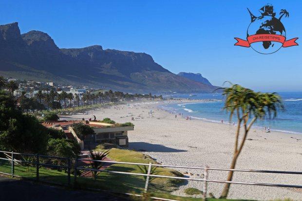 Camps Bay Beach Kapstadt Südafrika Strand
