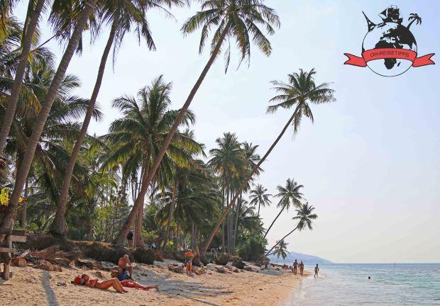 Insel Ko Samui Thailand Strand