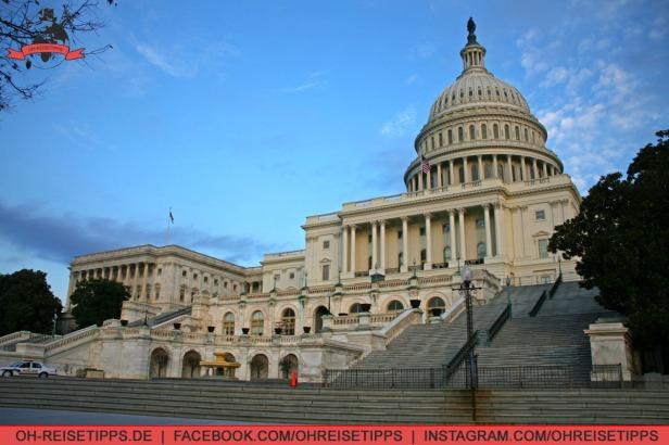 Das Capitol in Washington. Foto: Oliver Heider