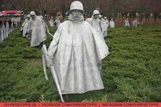 Korean War Veterans Memorial. Foto: Oliver Heider