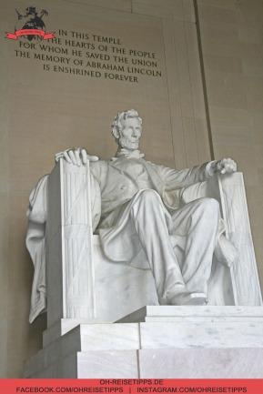 Loncoln Memorial in Washington. Foto: Oliver Heider