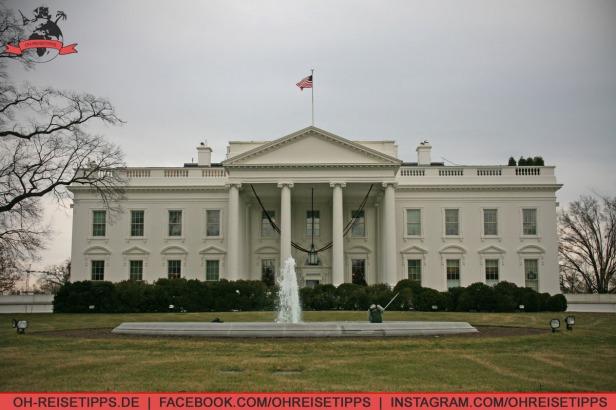 Das Weiße Haus in Washington, der Hauptstadt der USA. Foto: Oliver Heider