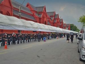 In Thailand herrscht große Trauer angesichts des Todes von König Bhumipol. Foto: privat