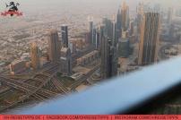 Zu Besuch auf der Aussichtsplattform im 124. Stock des Burj Khalifa in Dubai. Foto: Oliver Heider