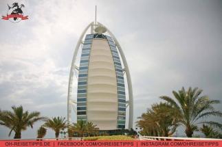 Das luxuriöse Hotel Burj Al Arab in Dubai. Foto: Oliver Heider