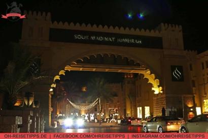 Souk Madinat Jumeirah in Dubai. Foto: Oliver Heider