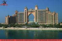 "Das Atlantis-Resort auf ""The Palm Jumeirah"" in Dubai. Foto: Oliver Heider"