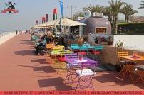 """Der """"Boardwalk"""" hinter dem Atlantis-Resort auf """"The Palm Jumeirah"""" in Dubai. Foto: Oliver Heider"""