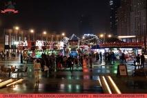 """Rummelplatz auf """"The Walk"""" in Dubai. Foto: Oliver Heider"""