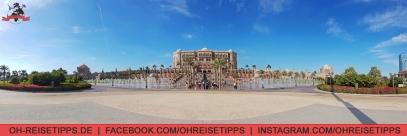 Das Luxus-Hotel Emirates Palace in Abu Dhabi. Foto: Oliver Heider