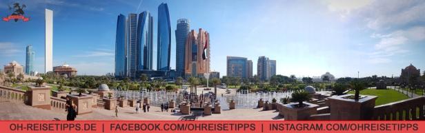 Die Etihad Towers in Abu Dhabi. Foto: Oliver Heider