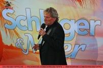 """Die TV-Sendung """"Schlager & Meer"""" mit Beatrice Egli wurde auf der Mein Schiff 3 von Tui Cruises aufgezeichnet. Mit dabei: Bernhard Brink. Foto: Oliver Heider"""