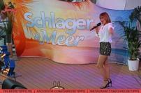 """Die TV-Sendung """"Schlager & Meer"""" mit Beatrice Egli wurde auf der Mein Schiff 3 von Tui Cruises aufgezeichnet. Mit dabei: Francine Jordi. Foto: Oliver Heider"""