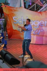 """Die TV-Sendung """"Schlager & Meer"""" mit Beatrice Egli wurde auf der Mein Schiff 3 von Tui Cruises aufgezeichnet. Mit dabei: Mitch Keller. Foto: Oliver Heider"""