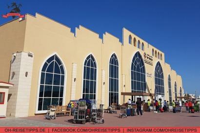 Cruise Terminal 3 des Hafens Port Rashid in Dubai. Foto: Oliver Heider