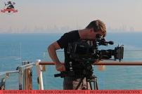 """Schon am ersten Tag auf See beginnen die Dreharbeiten für """"Schlager & Meer"""". Foto: Oliver Heider"""
