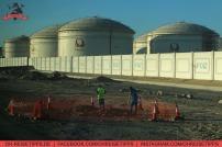 Öllager im Emirat Fujairah. Foto: Oliver Heider