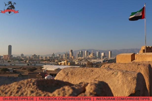 Die Stadt Fujairah in den Vereinigten Arabischen Emiraten. Foto: Oliver Heider