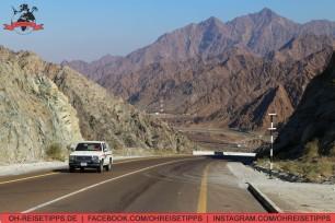 Gebirge im Emirat Fujairah. Foto: Oliver Heider